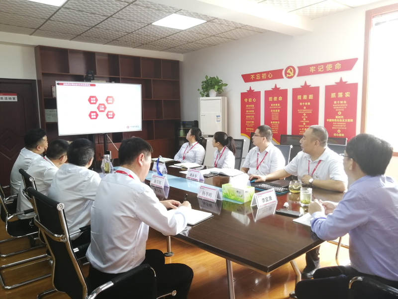 中信国安建工集团董事长李富康前往金凯祥公司视察指导工作