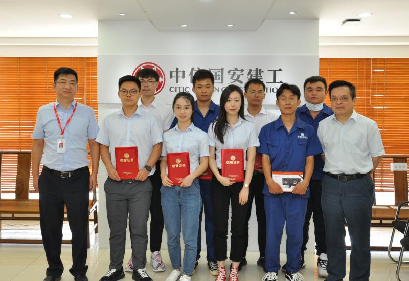 """年轻人的世界真精彩!华中分公司成功举办""""我是中信国安建工人""""主题演讲比赛活动"""